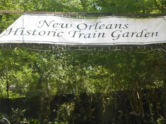 New Orleans City Park: Train Museum