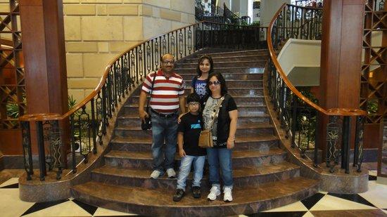 Sheraton Imperial Kuala Lumpur Hotel: Family photo at Hotel
