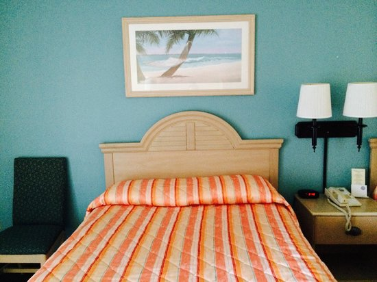 Cedar Point's Castaway Bay: Starfish Room 456, partial view