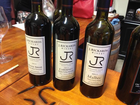 Wine Country Journeys LLC: J Rickards Wine
