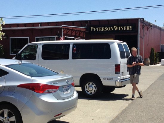 Wine Country Journeys LLC: Jerry and the van