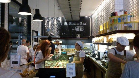 Boulangerie Guerin : interior