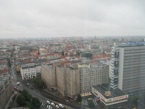 Park Inn by Radisson Berlin Alexanderplatz: My view