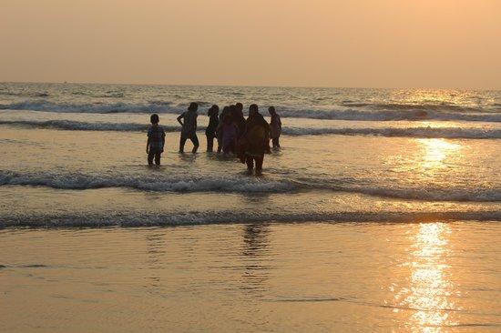 Payyambalam Beach: view of the beach