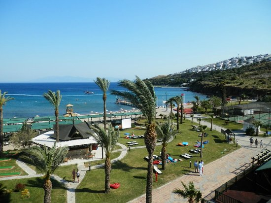 Bodrum Imperial: view from top of the slide