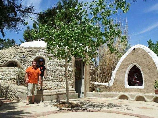 Cal Earth Homes: Hubby