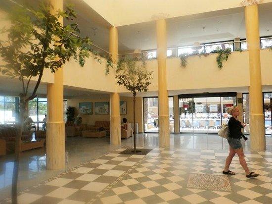 Occidental Ibiza: reception area