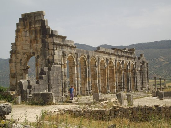 Morocco Discovery Holidays: Volubilis Ruins