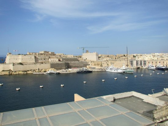 Sally Port Senglea: View from roof