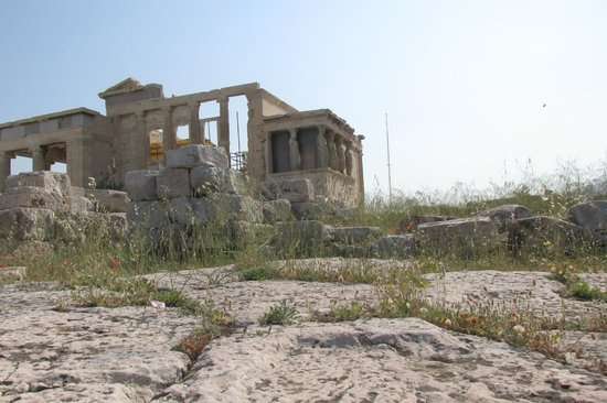 Erechtheion: Approaching