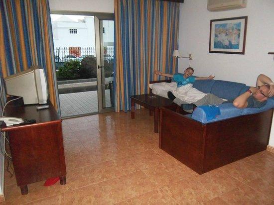 Hotel Floresta: Living room