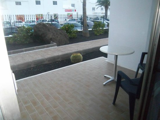 Hotel Floresta: Veranda