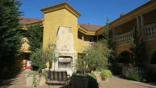 Best Western Dry Creek Inn: Sitting area