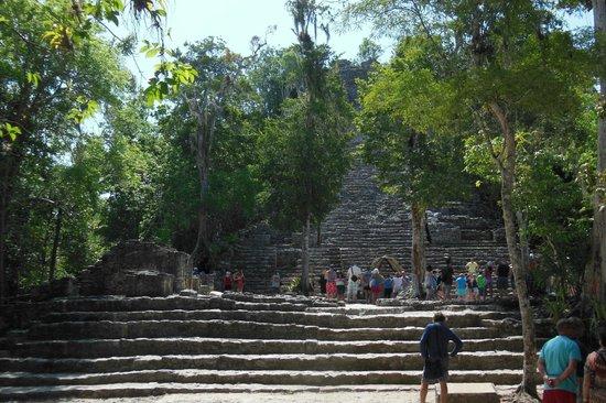 La Selva Mariposa : Coba Ruins