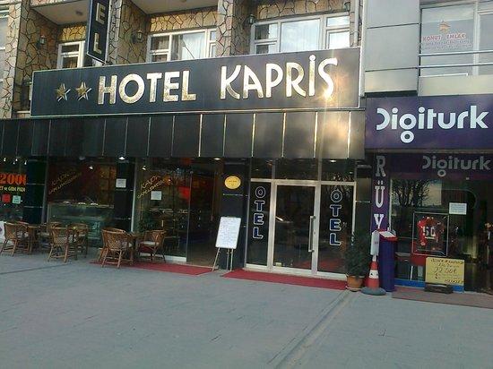 Kapris Hotel: OTOPARK