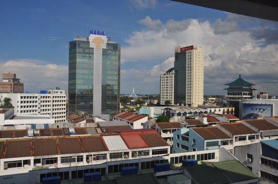 Hilton Kuching: Vue chambre