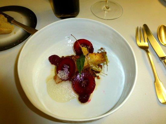 Restaurant Greuze : Filet de turbot sur lit de girolles