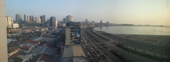 Hotel Presidente Luanda: Room view