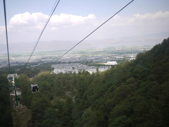 Cangshan Mountain : view from cable car