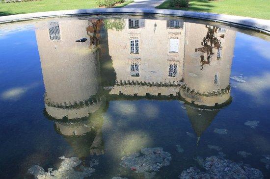 Château de Mercuès : Un miroir