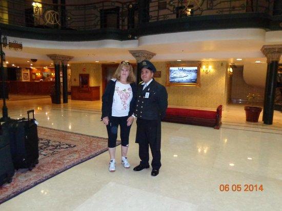 Gran Hotel Ciudad de Mexico: Hall del hotel