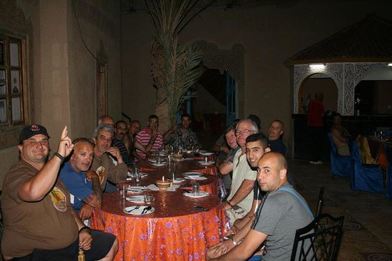 Kasbah Le : Dinner at the terrace!