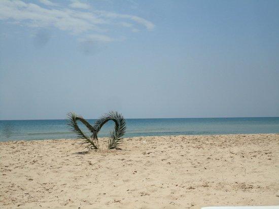 Le Zenith Hotel : Der privat strand bereich