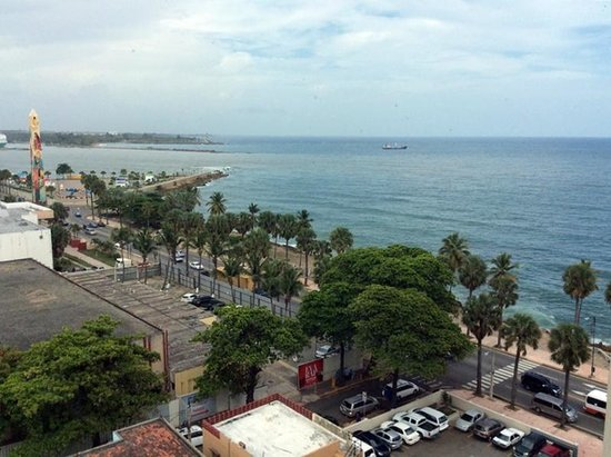 Crowne Plaza Santo Domingo: View from my room