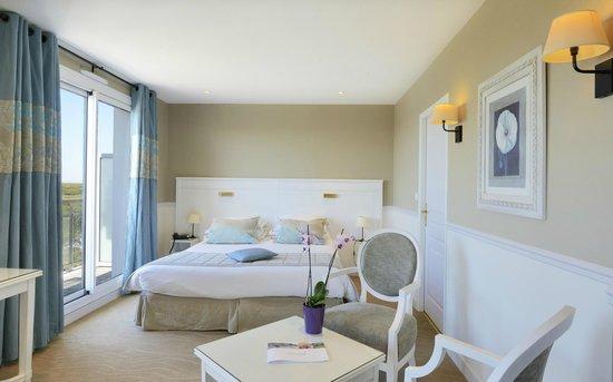 Castel Clara Thalasso & Spa : Chambre supérieure Océan