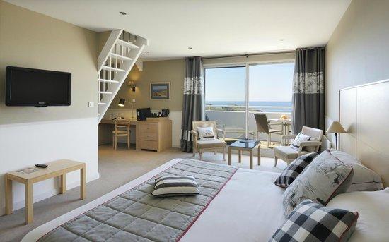 Castel Clara Thalasso & Spa : Suite familiale duplex