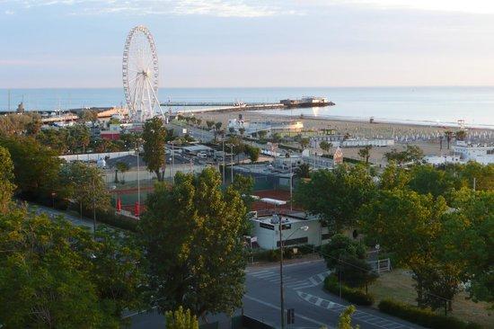Hotel Milton Rimini, BW Premier Collection: Blick auf Strand und Meer