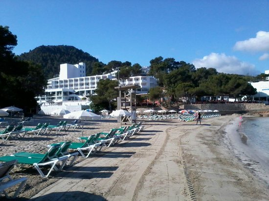Marconfort El Greco Hotel : Hotel and main beach