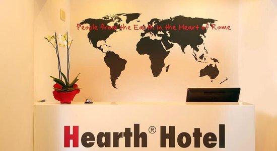 Hearth Hotel: l'accueil
