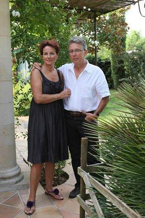 La Maison de la Sabliere : Brigitte et Jean Christophe vous accueillent