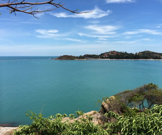 The Tongsai Bay: View from the cottage