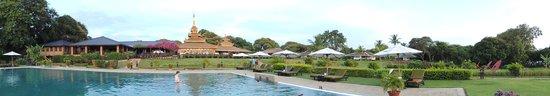 Bagan Thiripyitsaya Sanctuary Resort : piscine hotel 2