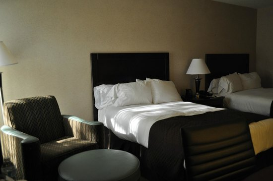 Doubletree Houston Intercontinental Airport : beds
