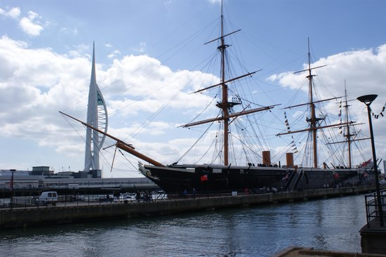 Portsmouth Historic Dockyard: HMS Warrior