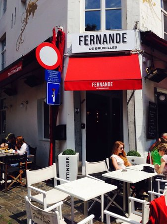 Fernande de Bruxelles : This is the place NOT TO GO in Brussels... Terrible
