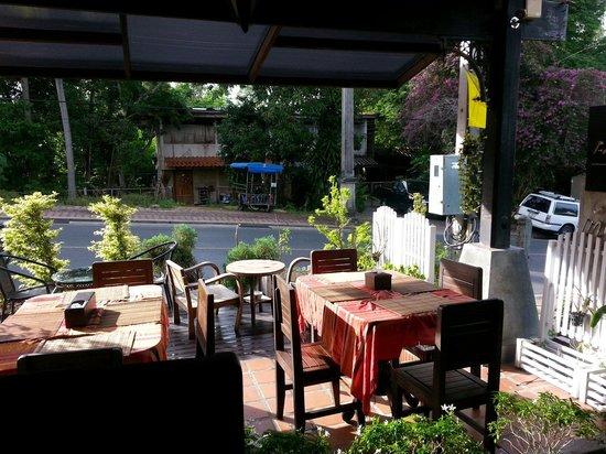 Baan Andaman Hotel Bed & Breakfast: View from breakfast area