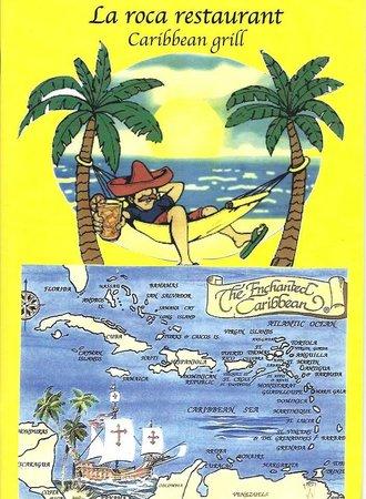 La Roca Restaurant Caribbean Grill: Logo la Roca