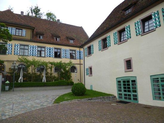 Schloss Haigerloch: Binnenplaats van het Hotel.