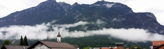 Hotel Zugspitze: View out the side window