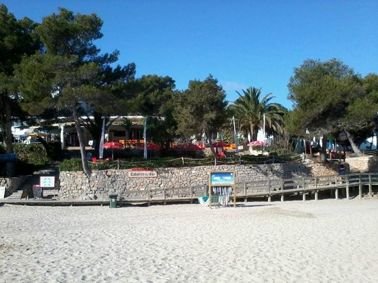 Caballito del Mar: View from beach