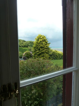 Undercliff Guest House: View from the room