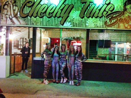 Cheeky Tikis Bar
