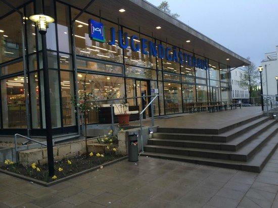 Jugendgaestehaus Hauptbahnhof: Вход