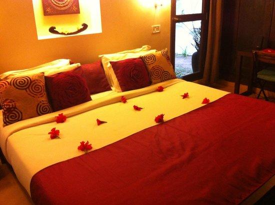 Marari Villas: Bedroom
