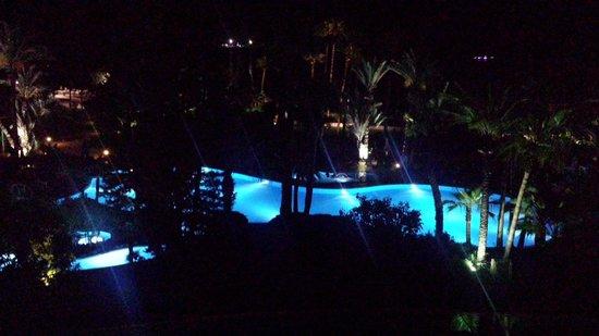 D-Resort Grand Azur: Pool at night