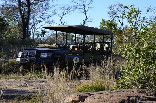 Makweti Safari Lodge: Our safari vehicle